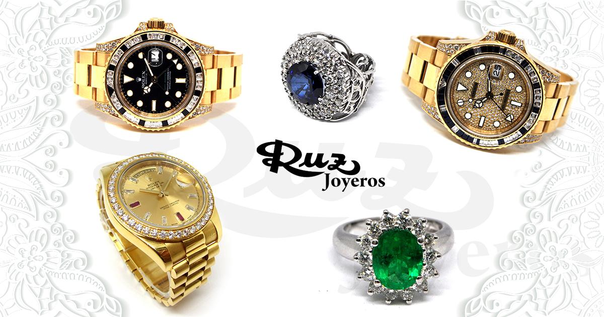 ¡Recupera tu estilo! Relojes y joyas de lujo a precio exclusivo