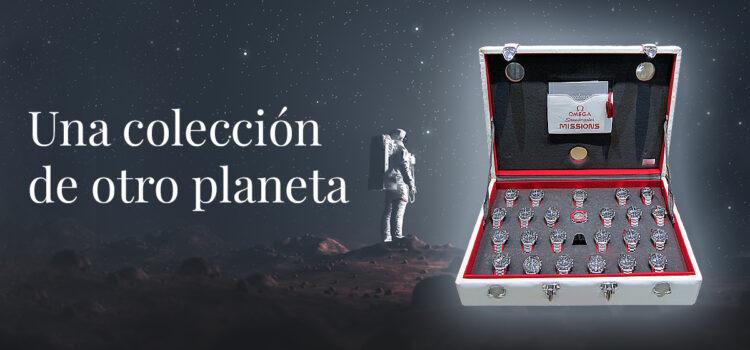 Maletín Omega SpeedMaster, una colección de otro planeta